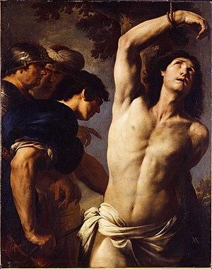 Andrea Vaccaro - Martyrdom of St Sebastian