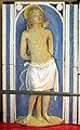 Andrea della robbia, madonna col bambino tra i ss. sebastiano e antonio abate (collez. rita d'annunzio lombardi) 02.JPG