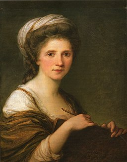 Angelika Kauffmann - Self Portrait - 1784