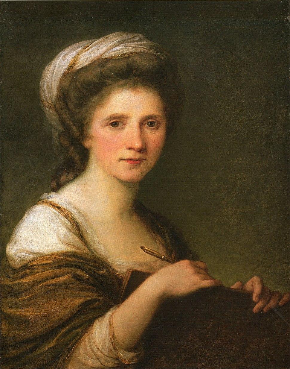 Angelika Kauffmann - Self Portrait - 1784