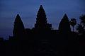 Angkor Wat towers at dawn (6207888499).jpg