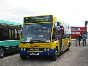 Anglian Bus - Optare Solo at Showbus in September 2004