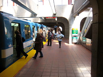 Angrignon station - Image: Angrignon Metro station