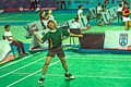 Ankara - BWF World Senior Badminton Championships - MS 60 Final. Johan Croukamp (SOUTH AFRICA) def Henry Paynter (CAN) 14 & 18 - Johan stayed cool - (11078149495).jpg