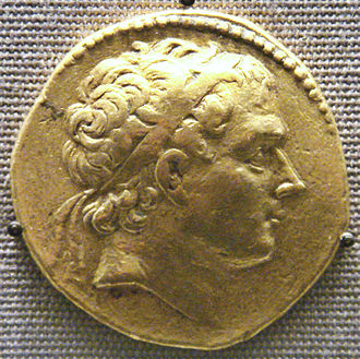 Antiochus III the Great - Coin of Antiochos III.