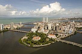Antonio Vaz island - Recife, Pernambuco, Brazil