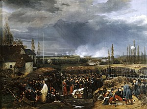 Siege of Antwerp (1832) - Image: Anvers 1832 horace vernet