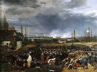 Siege of Antwerp (1832) - Image: Anvers 1832 horace vernet