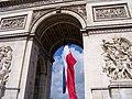 Arc de Triomphe, VE Day (7224492942).jpg