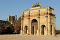 Arc de triomphe du carrousel in Paris France.png