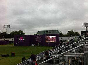Archery at the 2012 Summer Olympics - Lord's Cricket Ground hosted the archery at the 2012 Games.