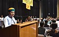 Arjun Ram Meghwal addressing at the Prize Distribution Function of the 13th National Youth Parliament Competition 2016-17, in New Delhi.jpg