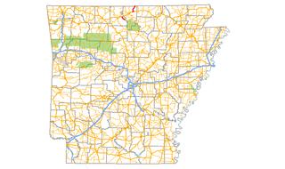 Arkansas Highway 101 highway in Arkansas