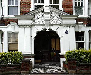 E. M. Forster - Arlington Park Mansions, Chiswick