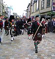 Armed Forces Day - Parade to Inverness Highland Games 2012 Scotland (Massed Pipe Bands) (7618396376).jpg