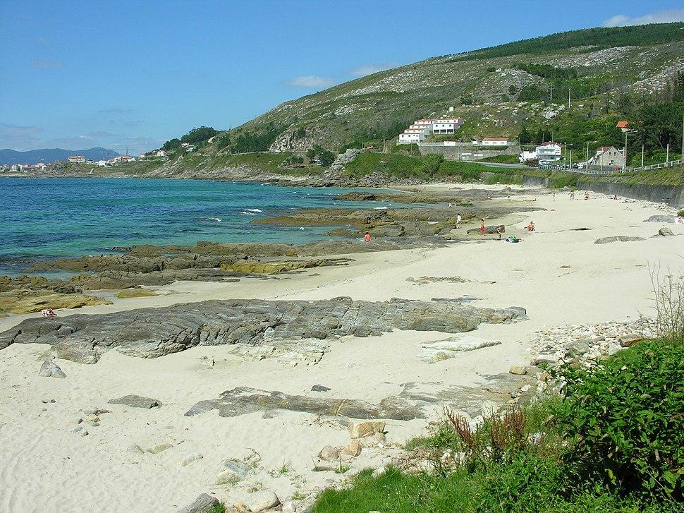 Praia de Arnela.