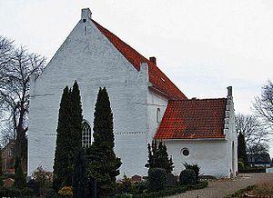 Arninge Church - Arninge Church, Lolland