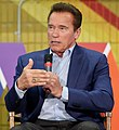Arnold Schwarzenegger speaks at New Way California Press event in Los Angeles (40066225285) (cropped).jpg
