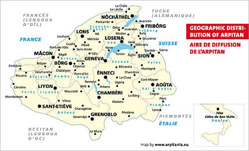 Swiss French Wikiwand - Switzerland language map