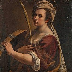 self portrait as saint catherine of alexandria wikipedia
