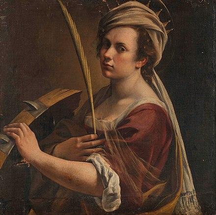 Saint Catherine Of Alexandria Artemisia Gentileschi Wikiwand