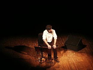 Ascanio Celestini in scena al Teatro della Corte di Genova