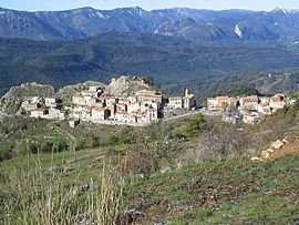 The village of Ascros