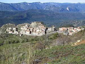 Ascros - The village of Ascros