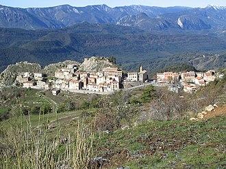 Ascros - The village of Ascros