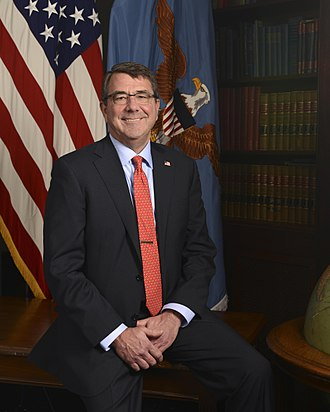 Ash Carter - Carter's official portrait