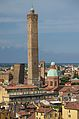 Asinelli Tower and Garisenda Tower Bologna Italy.jpg