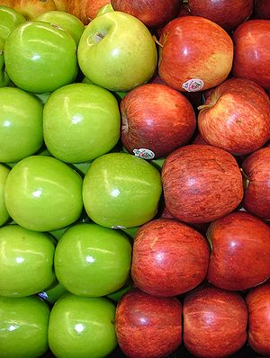 Assorted Red and Green Apples 2120px