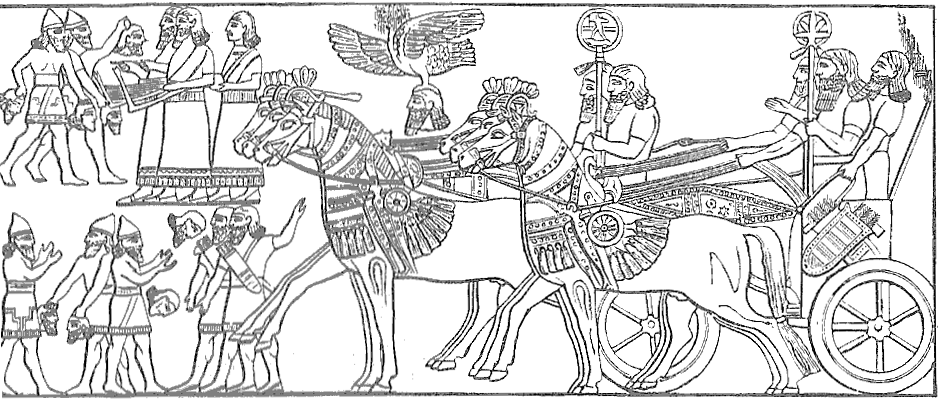 Assyrian troops return
