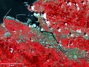 Greater Bilbao - Image: Aster bilbao lrg
