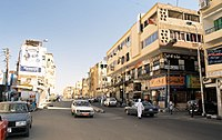 Aswan street parallel to Corniche, Egypt, October 2004.jpg