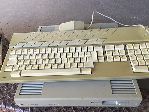 Atari Mega ST 2 keyboard
