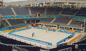 Athens 2004 Beach Volleyball Stadium.jpg