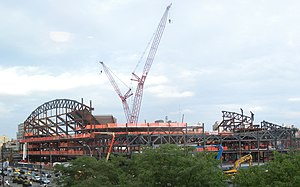 Pacific Park, Brooklyn - Under construction in summer 2011