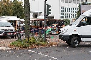 Henriette Reker - Crime scene of the attack on Reker