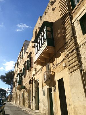Auberge de France - View of the first Auberge de France, in Valletta, in 2016