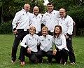 Austrian Olympic Team 2012 c Udo Quellmalz, Othmar Haag, Taro Netzer, Klaus-Peter Stollberg, Sabrina Filzmoser, Ludwig Paischer, Hilde Drexler.jpg