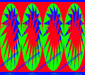 Autostereogram Showing Effects of Chromostereopsis from Gene Levine.png