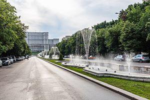 Avenida de la Unión, Bucarest, Rumanía, 2016-05-29, DD 58