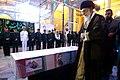 Ayatollah Khamenei in Funeral of Mohsen Hojaji in Tehran 07.jpg