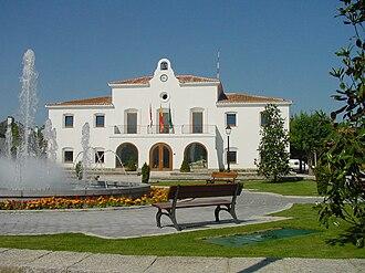 Villanueva de la Cañada - City Hall in Villanueva de la Cañada