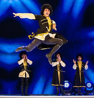 Azerbaijani dances - Jangi (dance)