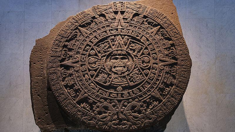Aztec calendar stone latamobjects