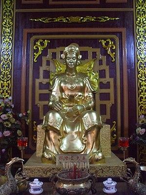 Bùi Thị Xuân - Statue of Bui Thi Xuan in Quang Trung Museum, Binh Dinh