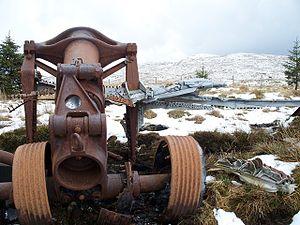 Lochgoilhead - Image: B 29 Superfortress Landing Gear geograph.org.uk 1400947