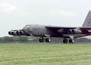 Minot Air Force Base military airbase in North Dakota, United States